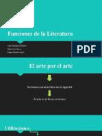 Funciones de la Literatura