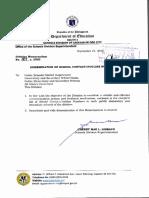 DM407s2020- Dissemination of School Contact Hotline Numbers