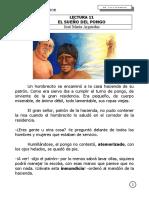 PLAN LECTOR 11 - EL SUEÑO DEL PONGO