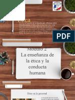 La enseñanza de la ètica y la conducta humana.pptx