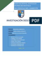 Investigación Descriptiva Final