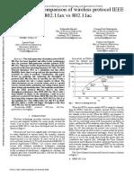 1. 802.11ax ------ Performance comparison of wireless protocol IEEE 802.11ax vs 802.11ac