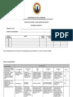 Progress 1 report (2018)