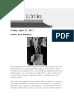 Pasolini lector de Gramsci - Gerardo Muñoz