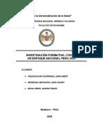 INVESTIGACIÓN FORMATIVA Covid-19
