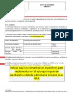 5.2 ACTA DE ACUERDO PARA PIAR