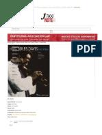 MILES DAVIS - KIND OF BLUE (Alto Sax _ Bass _ Piano _ Tenor Sax) na Freenote