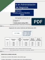 Unidad 3 Activity based costing (2)