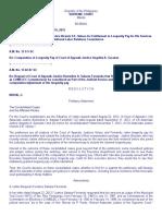 (2) Request of CA Justices Vicente S.e. Veloso, Angelita A. Gacutan and Remedios A. Salazar Fernando for Computation Adjustment of Longetivity Pay