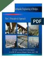 Principles of Earthquake Engineering of Bridges