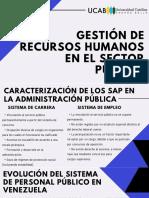 ALFPde recursos humanos en el sector público