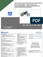 Husqvarna-WR 250-2007-Parts Catalog