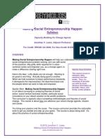 Making Social Entrepreneurship Happen SYLLABUS - Copy.pdf