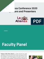 lac2020 - speakers   presenters