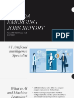 Linked In Emerging Job Report (Canada)