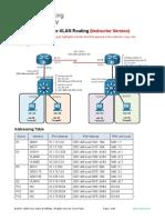 1.1.2 Lab - Implement Inter-VLAN Routing - ILM