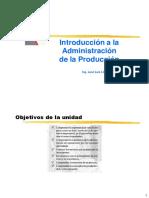 01 INTRODUCCION A LA ADM. DE LA PRODUCCION