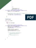 Simple Program 1