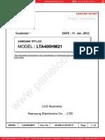 LTA400HM21-Samsung