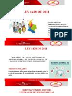 LEY 1438 DE 2011 Diapositivas