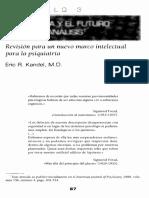Kandel 1999 Biolog°a y el futuro del psicoan†lisis[15350].pdf
