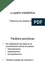 Miopatia metabólica