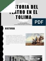 Historia del teatro en el tolima