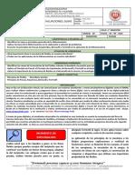 Guía de Trabajo Física  Actividad en Casa sobre Mecanica de Fulidos