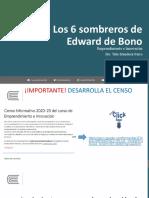 SESIÓN 06 SOMBREROS DE EDWAR DE BONO