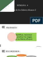 PPT SEMANA 4 RASGOS DE LOS LIDERES EFECTIVOS (2)