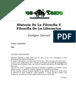 Dussel, Enrique - Historia De La Filosofia Y Filosofia De La Liberacion.doc