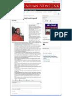 Indian Newslinks 15jan2011