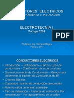 Electrotecnia - Conductores Electricos