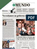 2ª parte Entrevista a Rajoy El Mundo 31-1-2011