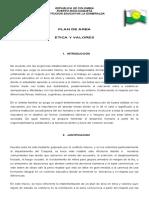 PLAN DE AREA ETICA  2019 pralticom