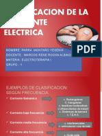 CLASIFICACION DE LA CORRIENTE ELECTRICA yes t2