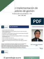 1. Diseño y Gestión de indicadores_PCM