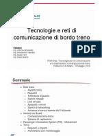 TRENITALIA Ghelardini - Tecnologie e reti a bordo treno