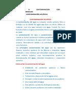CONTAMINACION DE RESIDUOS PELIGROSOS