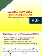 NEURAL NETWORKS Basics using Matlab