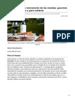 lanacion.com.ar-Gastronomía La reinvención de las viandas gourmet caseras de autor y para celebrar