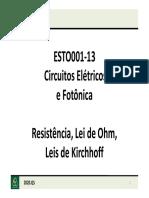 CEF_aula3_resistência_Lei_Ohm_Leis_Kirchhoff_Heloise_Slides