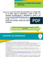 DOCUMENTOS PARA CERTIFICACION - VIRTUAL
