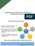 Aula 6 - O Sistema de Vigilância Alimentar e Nutricional (SISVAN)