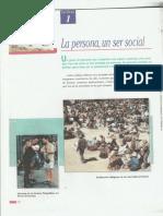 La persona un ser social Dahomi