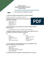 Análisis  a Cuestionario de evaluación en parroquia Nuestra Señora de Lourdes