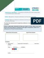 FICHA DE APRENDIZAJE MATEMÁTICA 3° PRIMARIA-OCTUBRE 2020