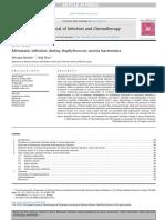 Metastatic infection during Staphylococcus aureus bacteremia 2020.pdf