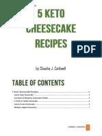 5 Keto Cheesecake Recipes1
