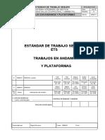 ETS HSE 01 018 Andamios y Plataformas